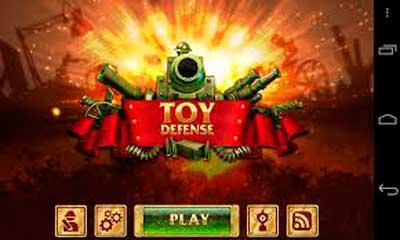 Взломанная Toy Defense сверху андроид